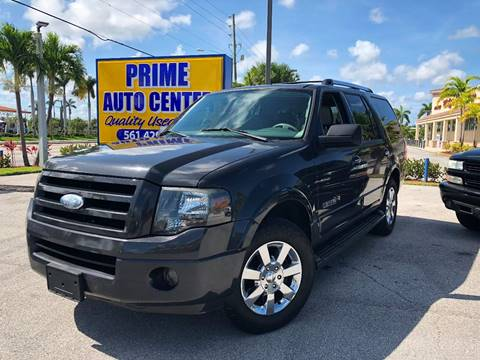 2007 Ford Expedition for sale at PRIME AUTO CENTER in Palm Springs FL