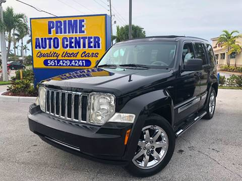 2008 Jeep Liberty for sale at PRIME AUTO CENTER in Palm Springs FL