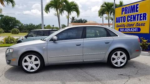 2006 Audi A4 for sale at PRIME AUTO CENTER in Palm Springs FL