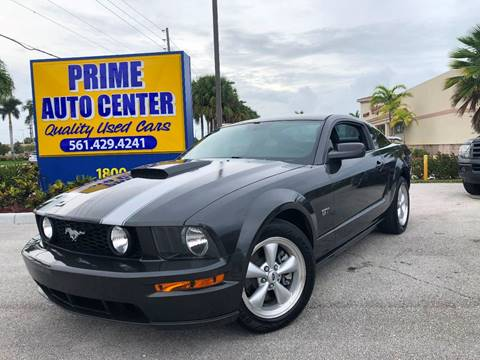 2007 Ford Mustang for sale at PRIME AUTO CENTER in Palm Springs FL