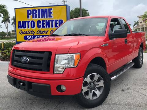 2012 Ford F-150 for sale at PRIME AUTO CENTER in Palm Springs FL