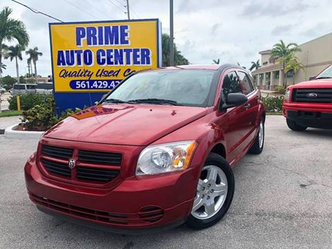 2008 Dodge Caliber for sale at PRIME AUTO CENTER in Palm Springs FL