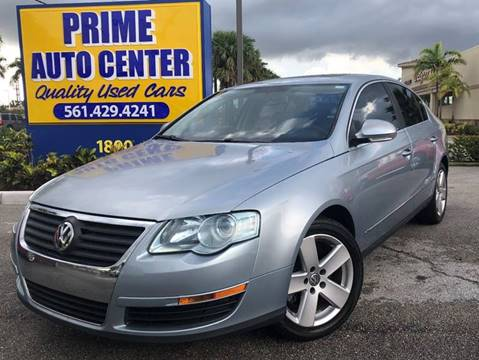 2006 Volkswagen Passat for sale at PRIME AUTO CENTER in Palm Springs FL
