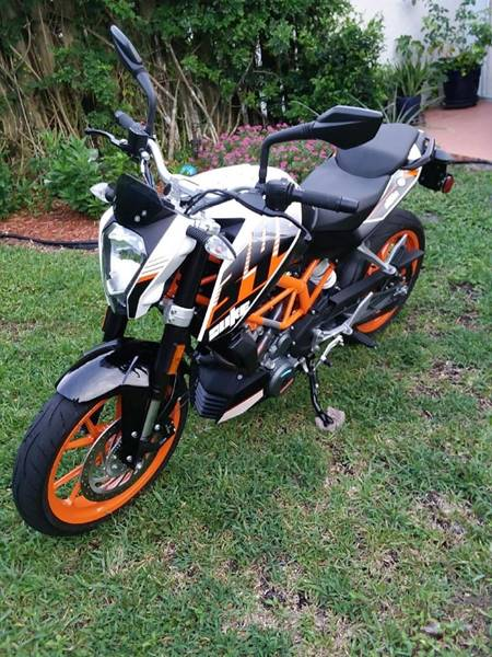 2016 KTM DUKE 390 for sale at PRIME AUTO CENTER in Palm Springs FL
