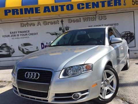 2007 Audi A4 for sale at PRIME AUTO CENTER in Palm Springs FL
