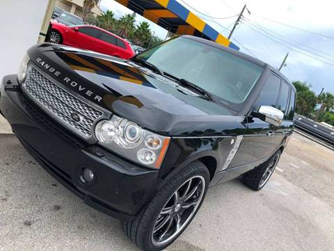 2007 Land Rover Range Rover for sale at PRIME AUTO CENTER in Palm Springs FL
