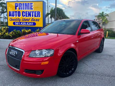 2006 Audi A3 for sale at PRIME AUTO CENTER in Palm Springs FL