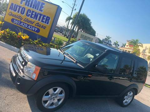 2007 Land Rover LR3 for sale at PRIME AUTO CENTER in Palm Springs FL