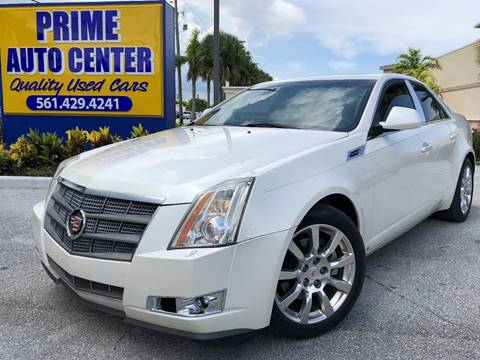 2009 Cadillac CTS for sale at PRIME AUTO CENTER in Palm Springs FL
