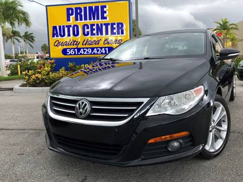 2010 Volkswagen CC for sale at PRIME AUTO CENTER in Palm Springs FL