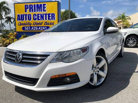 2011 Volkswagen CC for sale at PRIME AUTO CENTER in Palm Springs FL