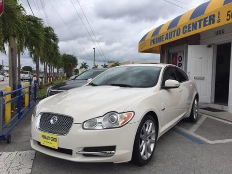 2009 Jaguar XF for sale at PRIME AUTO CENTER in Palm Springs FL