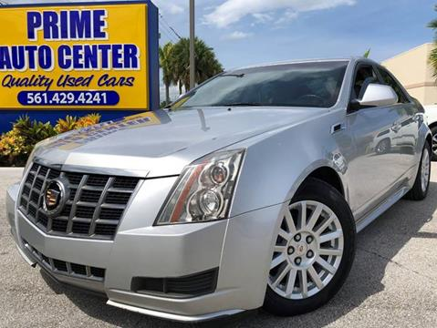 2012 Cadillac CTS for sale at PRIME AUTO CENTER in Palm Springs FL