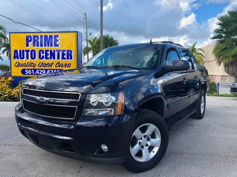 2007 Chevrolet Avalanche for sale at PRIME AUTO CENTER in Palm Springs FL