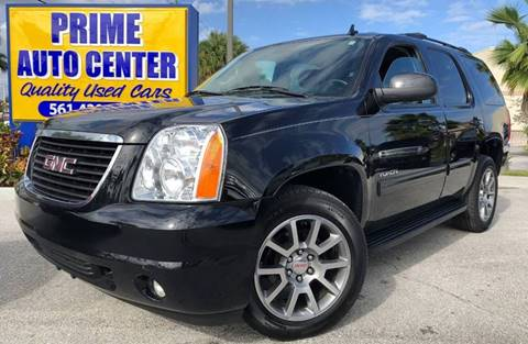 2013 GMC Yukon for sale at PRIME AUTO CENTER in Palm Springs FL