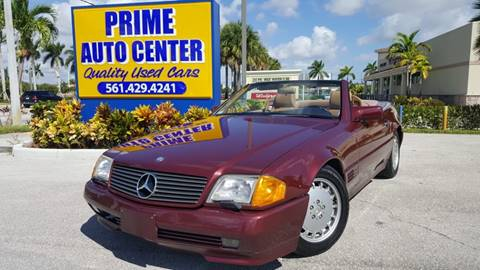 1990 Mercedes-Benz 500-Class for sale at PRIME AUTO CENTER in Palm Springs FL