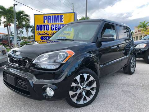 2013 Kia Soul for sale at PRIME AUTO CENTER in Palm Springs FL