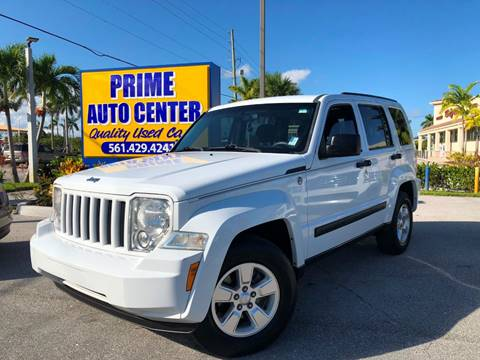 2011 Jeep Liberty for sale at PRIME AUTO CENTER in Palm Springs FL
