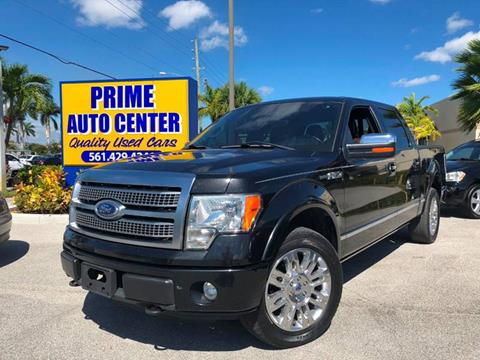 2011 Ford F-150 for sale at PRIME AUTO CENTER in Palm Springs FL
