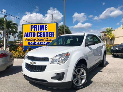 2012 Chevrolet Equinox for sale at PRIME AUTO CENTER in Palm Springs FL