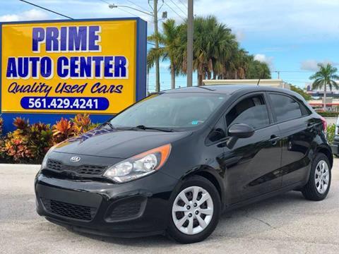 2014 Kia Rio5 for sale at PRIME AUTO CENTER in Palm Springs FL