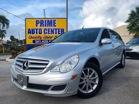 2006 Mercedes-Benz R-Class for sale at PRIME AUTO CENTER in Palm Springs FL
