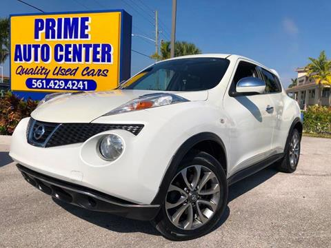 2011 Nissan JUKE for sale at PRIME AUTO CENTER in Palm Springs FL