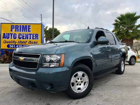 2011 Chevrolet Avalanche for sale at PRIME AUTO CENTER in Palm Springs FL