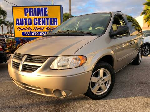 2006 Dodge Grand Caravan for sale at PRIME AUTO CENTER in Palm Springs FL