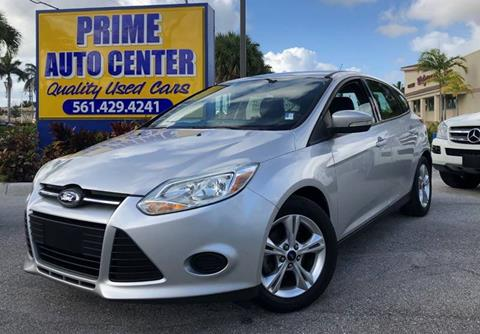 2013 Ford Focus for sale at PRIME AUTO CENTER in Palm Springs FL