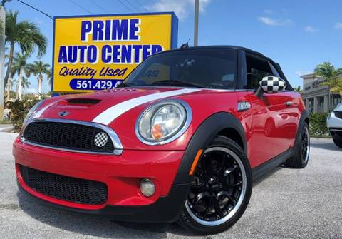 2009 MINI Cooper for sale at PRIME AUTO CENTER in Palm Springs FL
