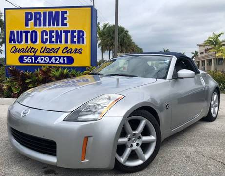 2004 Nissan 350Z for sale at PRIME AUTO CENTER in Palm Springs FL