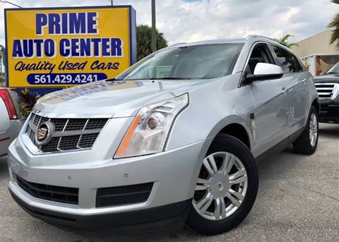 2010 Cadillac SRX for sale at PRIME AUTO CENTER in Palm Springs FL