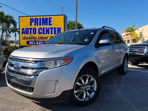 2011 Ford Edge for sale at PRIME AUTO CENTER in Palm Springs FL