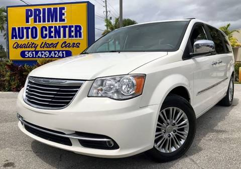 2013 Chrysler Town and Country for sale at PRIME AUTO CENTER in Palm Springs FL