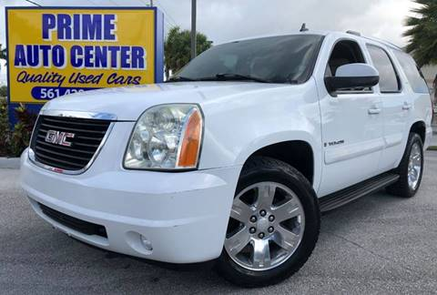 2007 GMC Yukon for sale at PRIME AUTO CENTER in Palm Springs FL