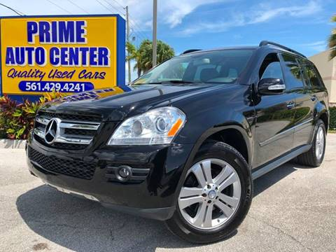 2008 Mercedes-Benz GL-Class for sale at PRIME AUTO CENTER in Palm Springs FL