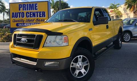 2004 Ford F-150 for sale at PRIME AUTO CENTER in Palm Springs FL