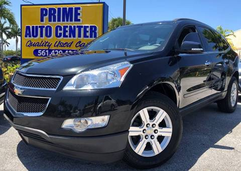 2012 Chevrolet Traverse for sale at PRIME AUTO CENTER in Palm Springs FL