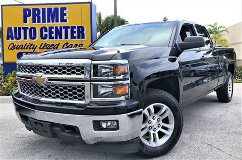 2014 Chevrolet Silverado 1500 for sale at PRIME AUTO CENTER in Palm Springs FL
