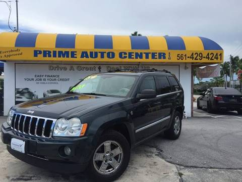 2005 Jeep Grand Cherokee for sale at PRIME AUTO CENTER in Palm Springs FL