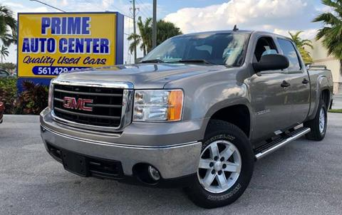 2007 GMC Sierra 1500 for sale at PRIME AUTO CENTER in Palm Springs FL