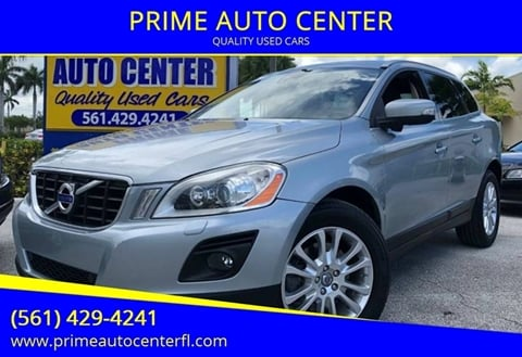 2010 Volvo XC60 for sale at PRIME AUTO CENTER in Palm Springs FL