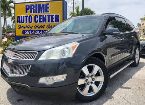 2009 Chevrolet Traverse for sale at PRIME AUTO CENTER in Palm Springs FL