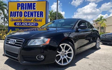 2010 Audi A5 for sale at PRIME AUTO CENTER in Palm Springs FL