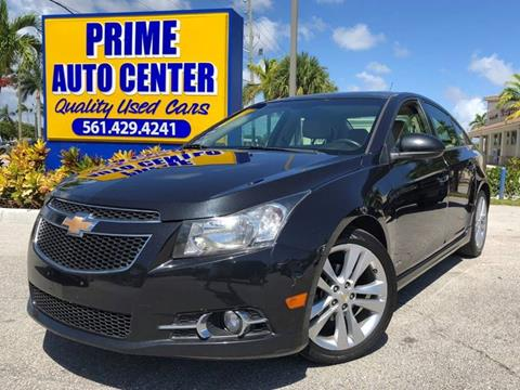 2011 Chevrolet Cruze for sale at PRIME AUTO CENTER in Palm Springs FL