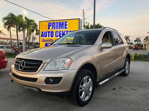 2006 Mercedes-Benz M-Class for sale at PRIME AUTO CENTER in Palm Springs FL