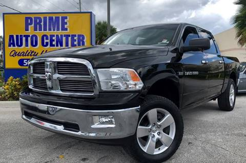 2012 RAM Ram Pickup 1500 for sale at PRIME AUTO CENTER in Palm Springs FL
