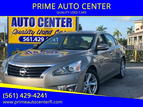2014 Nissan Altima for sale at PRIME AUTO CENTER in Palm Springs FL