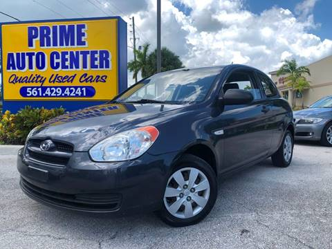 2009 Hyundai Accent for sale at PRIME AUTO CENTER in Palm Springs FL